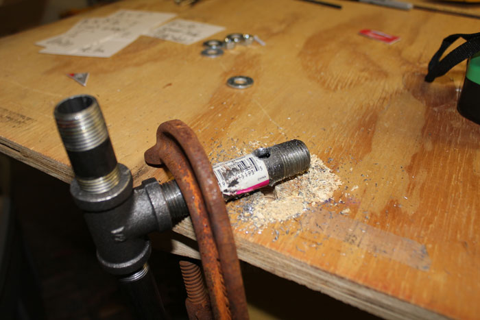 pushcart steering assembly DIY style